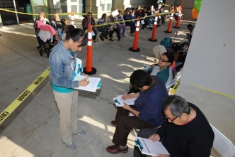 Hundreds Attend Free Health Screening Event