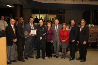 Reserve Officer Awarded for 50 Years of Service