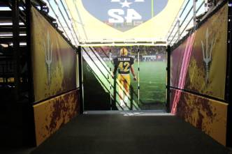 Pat Tillman Memorialized at Arizona State Tunnel