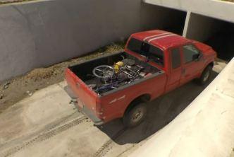 Stolen Truck Driver Leads Underground Pursuit