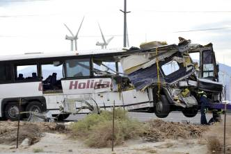 NTSB Begins Investigation Into Fatal Tour Bus Crash