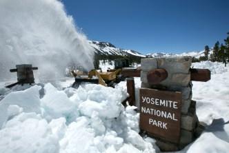 Plows Still Clearing Snowbound California Roads