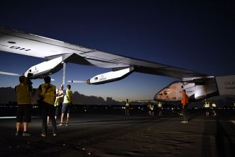 Solar Plane Travelling Around the World to Land in Bay Area