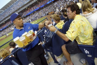 In-Seat Beer Service Returns to Dodger Stadium