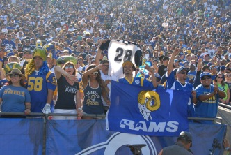 LA Fans Provide Home Field Advantage For Rams