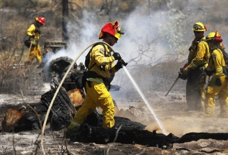 Firefighters Near Full Containment of Riverside County Fire