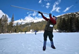 Survey Shows Higher Snowpack