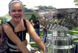 Hospitalized Girl Gets Visit From Stanley Cup