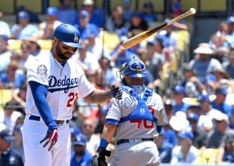 Dodgers Blown Out in Finale With Cubs
