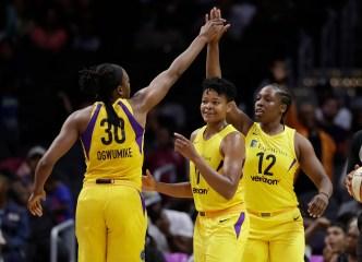LA Will Meet Minnesota In The First Round of WNBA Finals