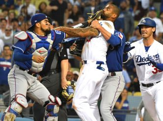 Texas Two-Step! Dodgers Sweep Rangers After Benches Clear