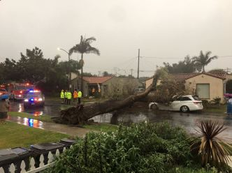 Thousands Without Power in SoCal Due to Storm