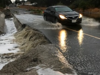 Storm Drenches Riverside County on Its Way Out of Southern California