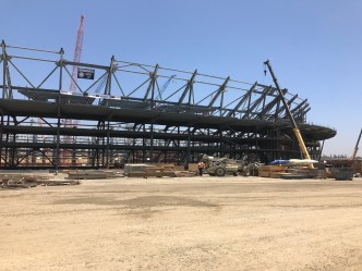 Rams and Chargers NFL Stadium Construction Hits Major Milestone