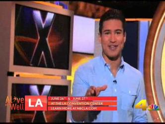 Mario Lopez Will Take the Age Fitness Challenge!