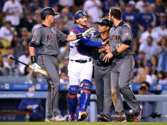 Pollock and Descalso Continue to Punish Dodgers