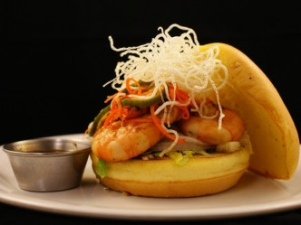Eat This: Kung Pao Shrimp Burger