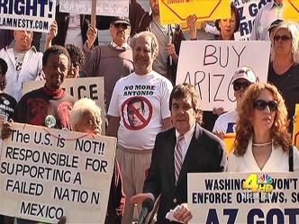 Tea Party Activists Protest at LA City Hall