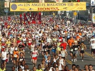 The 2009 LA Marathon
