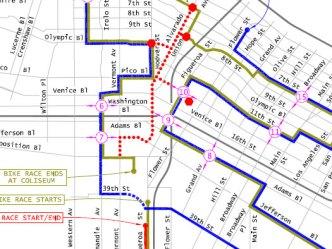 Marathon Course Map