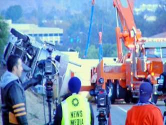 5 Freeway Reopens After Tanker Crash