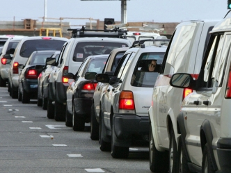 Morning Motorists Face Traffic Tie Up on 60 Freeway