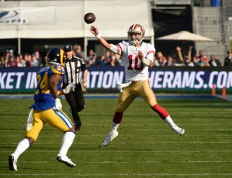 Niners Rout Rams in Regular Season Finale