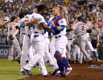 Puig Swings at Hundley, But Dodgers Lose Again to Giants
