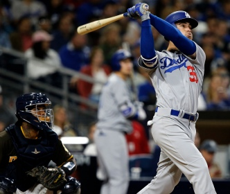 Bellinger Belts 2 Homers as Dodgers Beat Padres