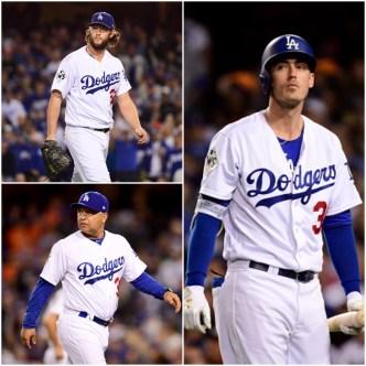 Dodgers' Bellinger, Kershaw and Roberts BBWAA Finalists