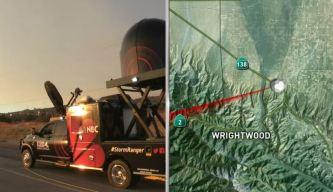 StormRanger4: Tracking the Cajon Pass Fire