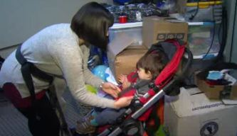 SoCal Mom Donates Baby Carriers to War Refugees