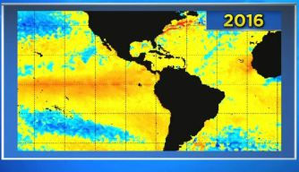 'Super' El Niño Weakening Slightly