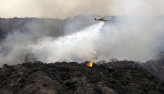 San Gabriel Complex Fires Continue to Burn