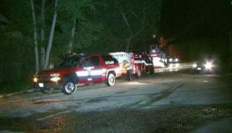 Brush Fire Burns Brentwood Hillside