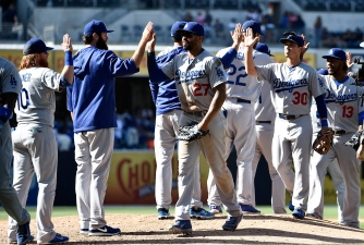 Dodgers, Nats Battle in Possible Playoff Preview