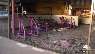 Police Investigate Cause of Crash at Planet Fitness