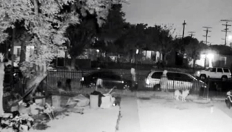 Four Sought in Shooting Death of Dog in Front Yard of Home