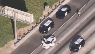 One Killed in Freeway Car-to-Car Shooting in Cerritos