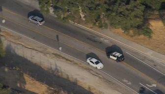 Three People Detained After Chase Through Calabasas