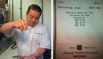 Whittier Top Chef's Restaurant Receipts Spark Conversation
