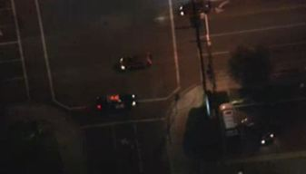 Driver Jumps From Moving Car in Pursuit