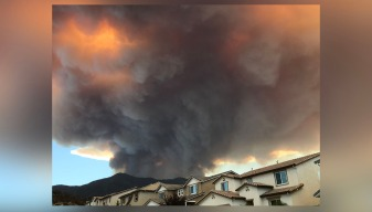 Explosive Holy Fire Grows to Nearly 10,236 Acres