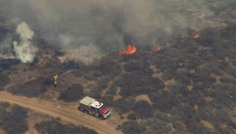 Laguna Coast Wilderness Park Fire