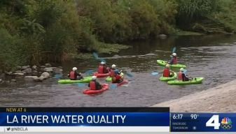Poor Water Quality at LA River Recreation Spots