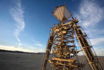 Silicon Valley in Burning Man with Servants, Air-Conditioned Yurts