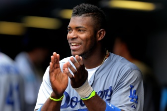 Dodgers' Yasiel Puig Disappoints in Homerun Derby