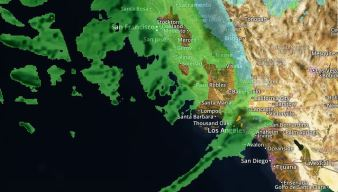 Slow-Moving Cold Storm Brings Steady Rain, Wind