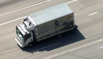 Pursuit Driver Ditches Coffee Truck, Runs Across Freeway