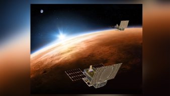 NASA Spacecraft Will Have Company on Its Way to Mars